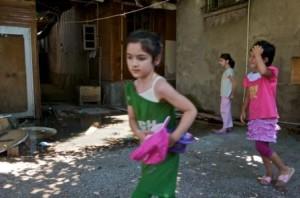 Fenerbahçe Çeçen Mülteci Kampı Çocuklar