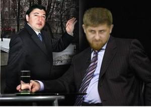 Maksharip Aushev ve Ramzan Kadirov