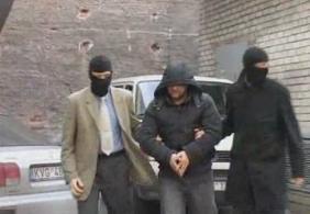 Malik Gataev'in Kaunas Polis Karargahı'na getirilişi