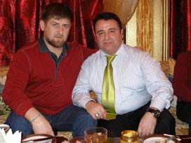 Ramzan Kadirov ve Türkiye'deki temsilcisi Seyfullah Türksoy