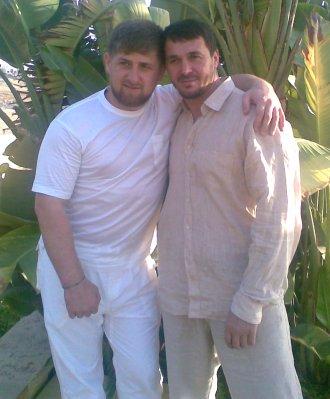 Ramzan Kadyrov and Zelimkhan Israilov
