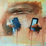 Peintre tchétchène – Roustam Sardalov