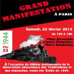 Annonce: Grande Manifestation à Paris