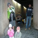 Deux nuits dans la rue à Rodez pour une famille de Tchétchènes