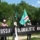 Maskhadov İçin İlk Gösteri Litvanya' da Yapıldı