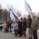 Moskova' da Litvinenko İçin Gösteri
