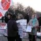 Savaş Karşıtları Moskova' da Gösteri Yaptı