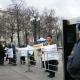 Moskova' da Maskhadov İçin Gösteri