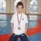 Fransa'daki Küçük Çeçen Güreşçi Umut Vaat ediyor