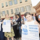 Fransa'da Ölen Çeçen için Protesto Gösterileri