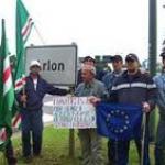 İnsan Hakları ve Barış Savunucularından Strasbourg' da Gösteri