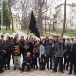 Kiew' de Çeçen Mülteci İçin Gösteri Yapıldı