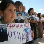 Grozny'de Gösteri