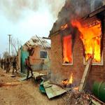 Rus Destekli Güçler Mücahitlerin Akrabalarının Evlerini Yaktı