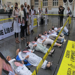 Natalya Estemirova İçin Protesto Gösterisi