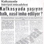 Kafkasya'da Hürriyet Mücadelesi (1951)