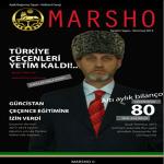 """Aylık Dergi """"Marsho"""" Yayınlandı"""
